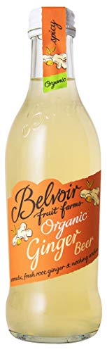 Belvoir Limonade Aromatisée Ginger Beer Bio 25 cl - Pack de 12