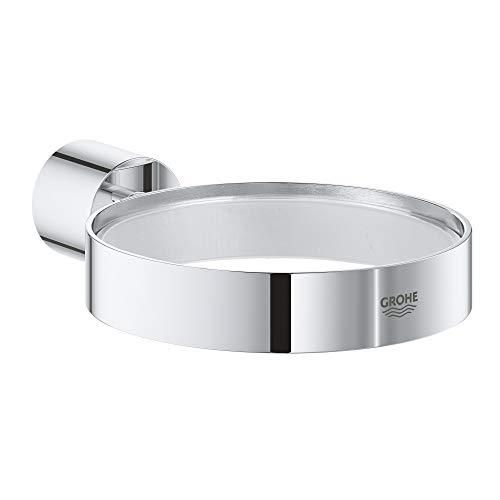 GROHE Atrio Soap Dish Holder, 12.5 x 11.0 x 5.5 cm, Starlight Chrome