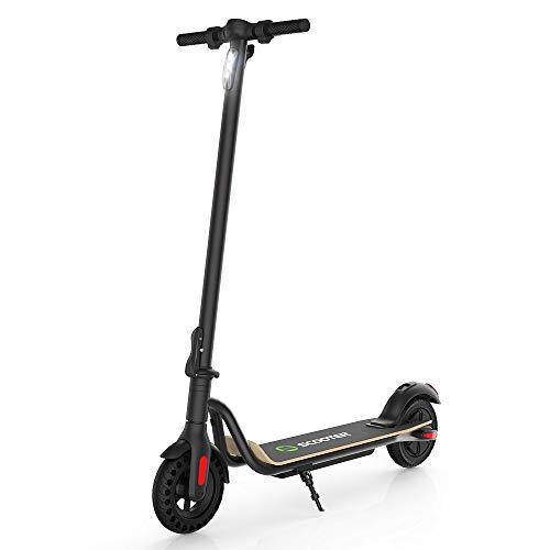 M MEGAWHEELS Patinete electrico S10-patinete electrico Adultos y niños, 7500 mAh, 25km/h.(Negro)