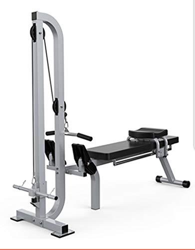 Pieghevole Fitness Vogatore Magnetico, Regolabile Resistenza Rower, con Manubri Panca Design, Esercizio Attrezzature Fitness