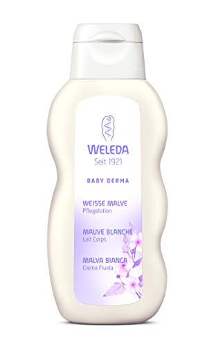 Weleda Italia Baby Derma Malva Bianca Crema fluida - 200 ml.
