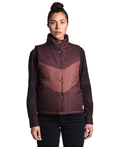 The North Face Women's Sylvester Vest, Root Brown/Marron Purple, L
