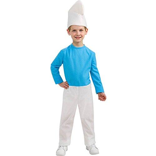 Rubie`s 884594-M Schlümpfe-Kostüm für Kinder