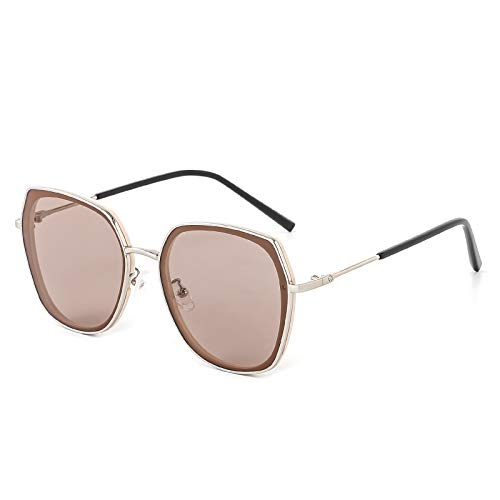 Cyxus Sunglasses Polarised Vintage Eyewear UV400 Protection Rectangle Frame for Driving Travelling