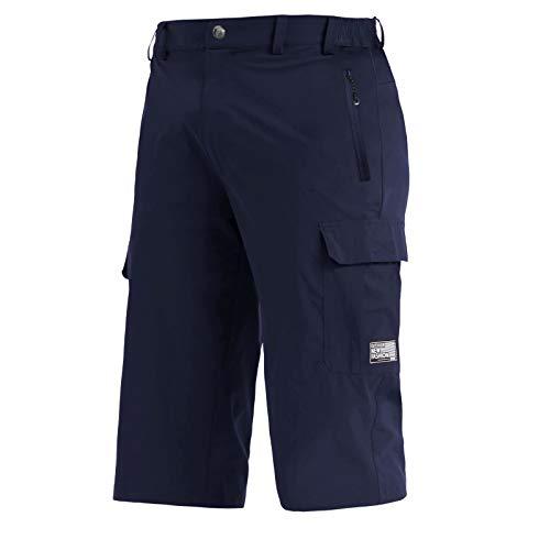BIYLACLESEN 3/4 Shorts Men Long Shorts for Men Below Knee Pants Capri Jogger Pants Lightweight Gym Running Pants Athletic Pants for Men Short Length