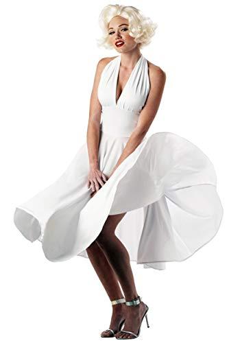 Generique - Sexy Marilyn Kostüm Filmstar weiß XL (44/46)
