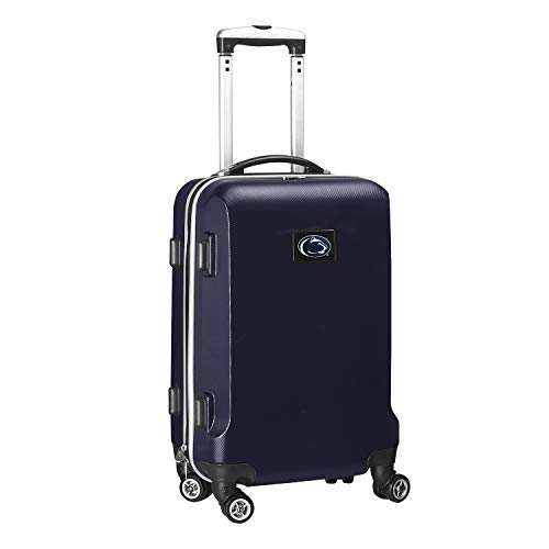 Denco NCAA Penn State Nittany Lions Carry-On Hardcase Luggage Spinner, Navy