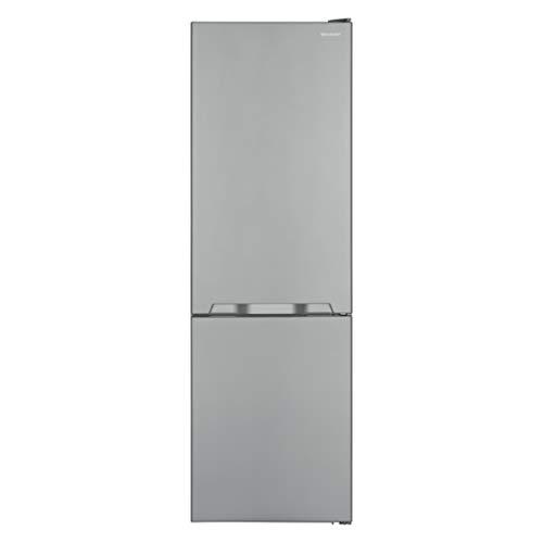 Sharp SJ-BA10IMXI2-EU Kühl-Gefrier-Kombination / A++ / Höhe 186 cm / Kühlteil 230 L / Gefrierteil 94 L / NoFrost / LED-Piktogramme / GentleAirFlow / Gemüseschubfach mit Feuchtigkeitsregler