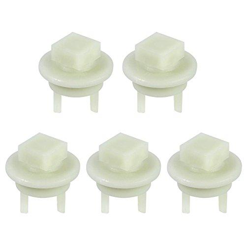 Manche en plastique de pièces de vitesse de broyeur de viande, Haofy 5Pcs Maison Cuisine Manche en plastique de douille de pièces de viande adaptée pour Bosch