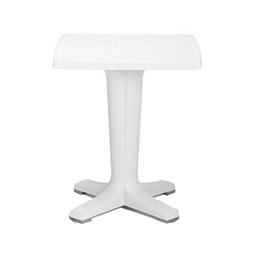 Nardi Marte Table carrée en polypropylène cm. 65x65 couleur blanche