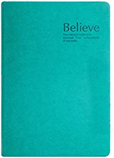 Durable Office Supplies, 1pcs Retro Fun Office Supplies, Thickened Notepad Jersh-school&office Supplies Leather Thickening Diary Office (Color : Green, Size : A6)