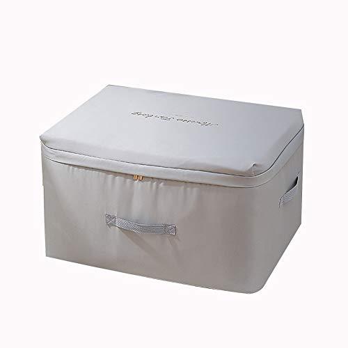 Aufbewahrungstasche mit Reissverschluss, geeignet for Kleidungsaufbewahrungstasche for Steppdecke, Betten, Bettwäsche Decke, 2 Stück (Color : D)