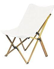 Camping Chair, Butterfly Stoel Outdoor Vouwen Stoel Ultra Licht Aluminium Camping Strand Terug Hout Graan Vlinderstoel Lading 120kg