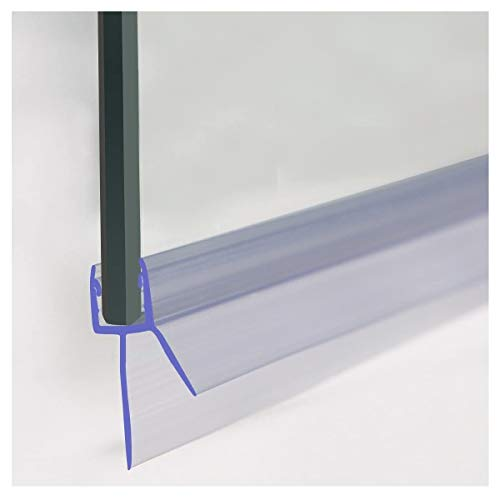 ECOSPA Bath Shower Screen Door Seal for 4-6mm Glass Up to 20 mm Gap