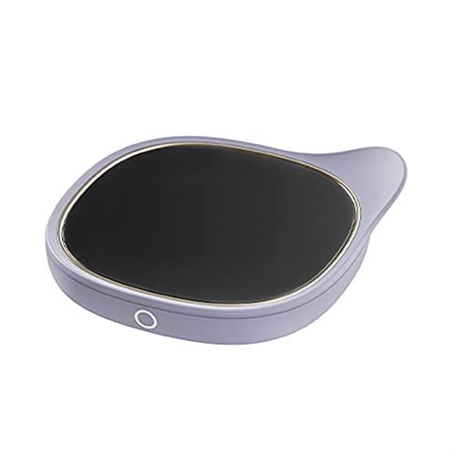 Scalda Tazza retrò Display Digitale Intelligente Temporizzazione Spegnimento Riscaldamento rapido Protezione di Sicurezza Riscaldamento Domestico Base Tazza Acqua Latte (Color : F)