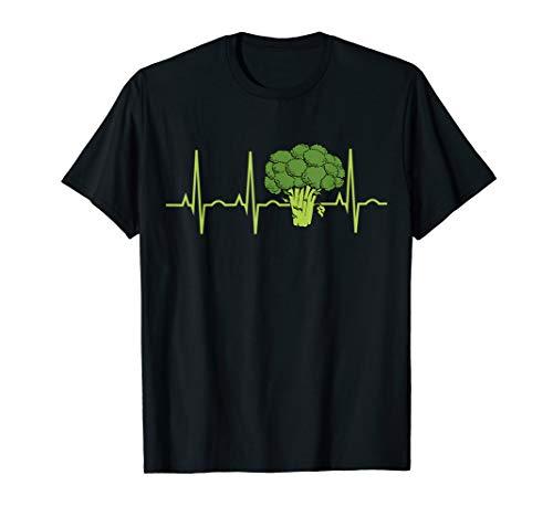 Brokkoli Heartbeat Shirt - Bestes Brokkoli Liebhaber Geschen