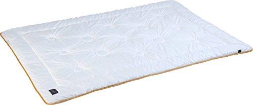 Pflegeleichte extrawarme Winter-Bettdecke aus Mikrofaser, unkompliziert mit Füllung bei 60° waschbar, 155 x 220 cm