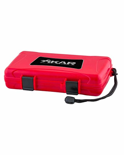Cigar Travel Humidor Case Red