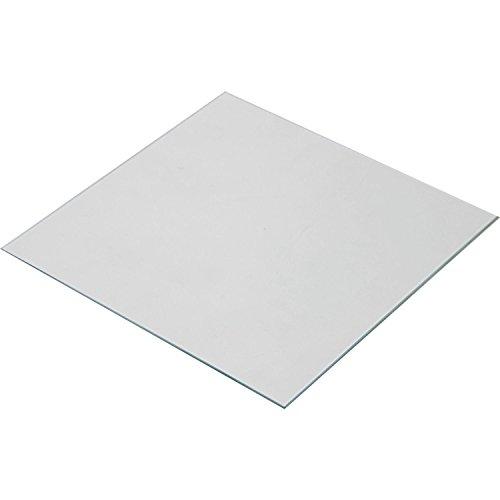 Wisamic Borosilicate Glass Plate Bed 220x220x3mm for 3D Printers MK2/MK2A/MK3, Anet A8, Anet A6, Reprap, Mendel