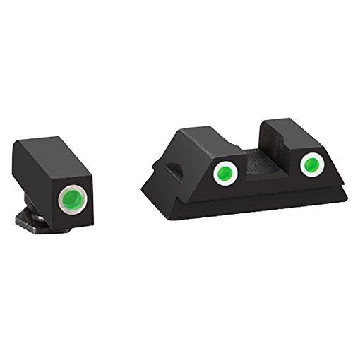 AmeriGlo Glock 43 and 43 3 Dot Tritium Set Front/Rear...