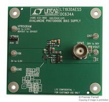 Price For: EachOrder Unit: Each1 Features:: 30-90V Output Voltage Avalanche Photodiode Bias Supply, 3-5.5Vin, 2.2Mhz Switching Frequency Kit Application Type:: Power Management Kit Contents:: Demo Board LT1930A SVHC:: No SVHC (17-Dec-2014) Silicon C...