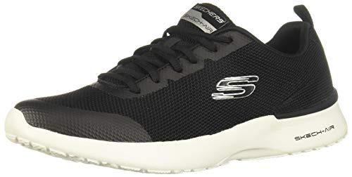 Skechers Skech Air Dynamight Winly Sportschuhe für Herren, (schwarz / weiß), 44 EU