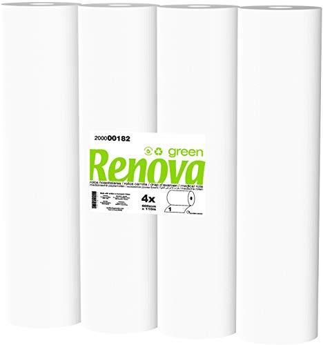 Rollos de Camilla Renova - 4 rollos de 110m