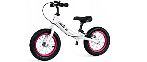 BDW Bicicleta de paseo a partir de 2 años, hasta 30 kg, ruedas hinchadas, rueda para aprender a andar regulable || freno.