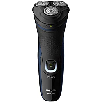 Philips Electric Shaver S1323/45, 3D Pivot & Flex Heads, 27 Comfort Cut Blades, Fast Charge, Up to 40 Min of Shaving (Silver)