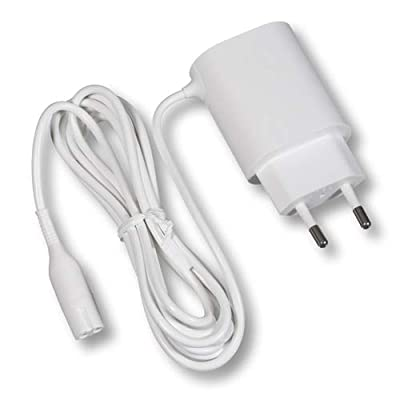 Power Supply CHARGER for Epilator & Lady Shave Legs, Body & Face Fits by Braun (Non-Retail Packaging) by Braun
