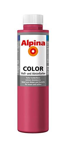 Alpina Farben Voll und Abtönfarbe Wandfarbe Alpina Color Farbton Shocking Pink 750 ml