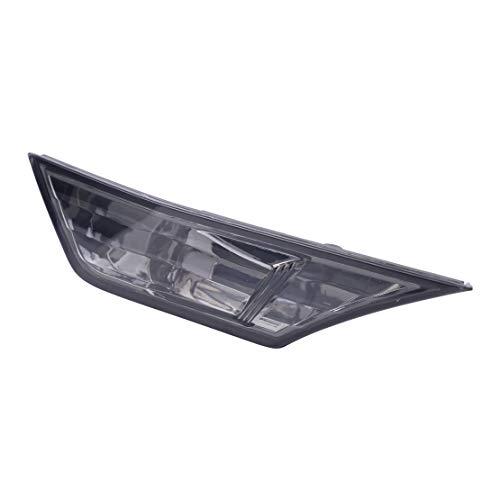 beler Marqueurs latéraux à LED Feu clignotant, lentille fumée, blanc ambré (sans ampoule)