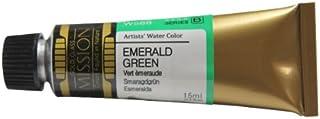 Mijello Mission Gold Water Color, 15ml, Emerald Green