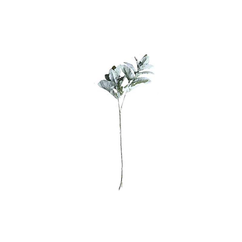 silk flower arrangements fenleo hot artificial flowers silk lambs ear leaf spray greenery for home décor wedding