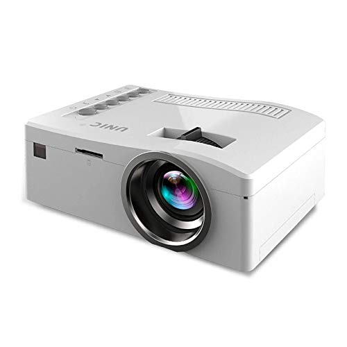 LED-projector Full HD 1080p home cinema Beamer Goedkope Projector met HDMI AV SD VGA Full HD 1080P Beamer Home Theater Systems,White