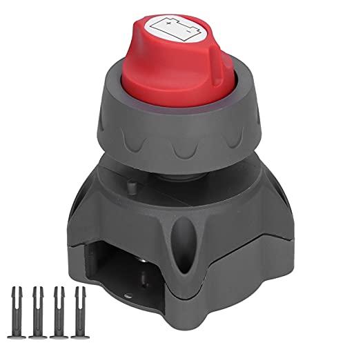PBOHUZ Interruptor de batería-Interruptor de batería Mini desconectador de Corte de energía Aislador Maestro para Coche, Barco, máquina, vehículo