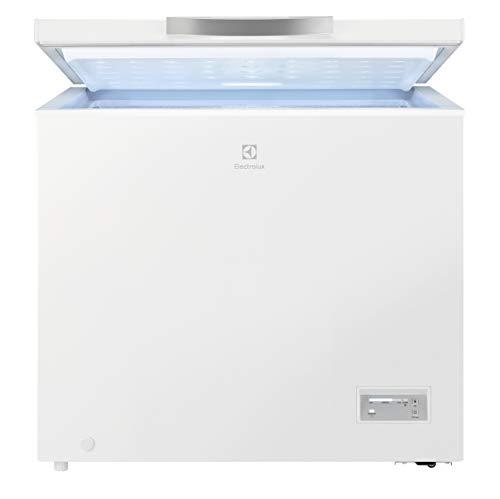 Electrolux LCB3LF20W0 Congelatore Orizzontale, Potenza 100 W, Capacità 198 L, Bianco