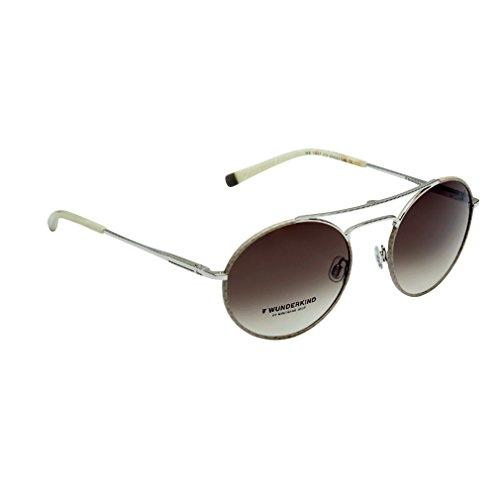 Wunderkind Sonnenbrille - WK 1017 C3 Beige Silber Schlangenmuster