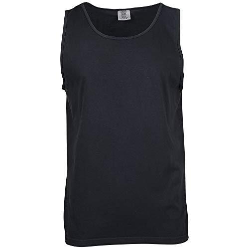 Comfort Colors Men's Adult Tank Top, Style 9360, Black, 4X-Large