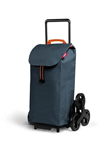Gimi Tris Urban - Carro de la compra con 6 ruedas, bolsa...