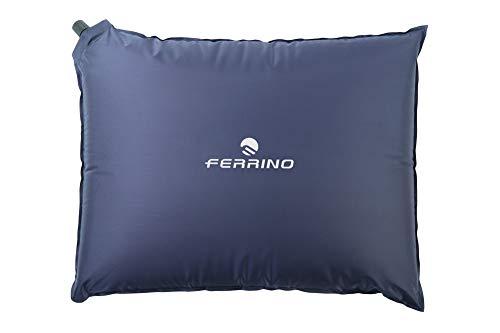 Ferrino, Cuscino Gonfiabile Goffrato Unisex Blu, 40x30x7 cm