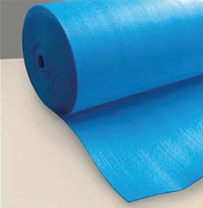 Sottopavimento per Pavimento Laminato Blu Isolante 3 Mm confezione da 50 mq