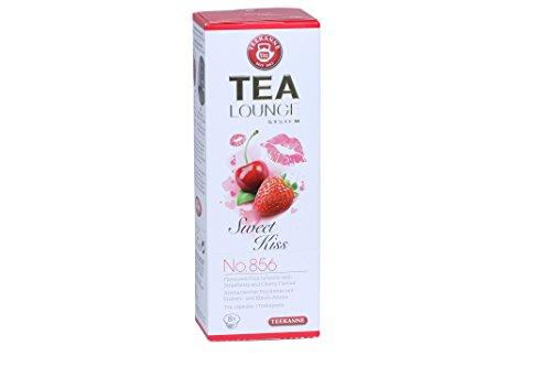 Teekanne Tealounge Kapseln Sweet Kiss No. 856 K-Fee (8 Kapseln)