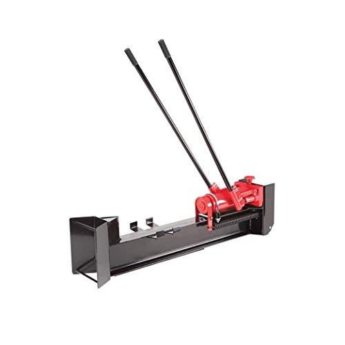 10 Ton Horizontal Log Splitter Wood Cutter Manual Hydraulic 2 Speed Wheel