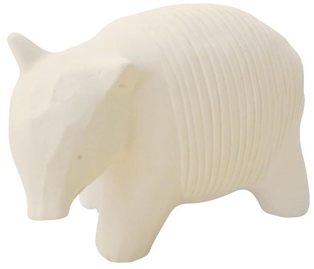 準備したうそつきダニフリート のんびり動物 プチアロマ 白バク