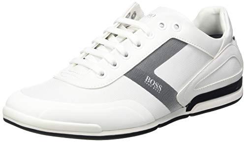 Boss Saturn_lowp_act5, Zapatillas Hombre, White100, 40 EU
