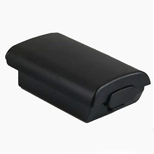 Alicer Batteriefach Akku Deckel Cover Gehäuse für Xbox 360 Wireless Controller - schwarz(Black)