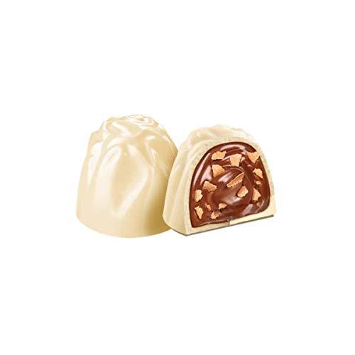 Witor´s Weiße Schokolade mit Haselnusscremefüllung und fein gekrümelten Keksen 150g