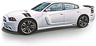 KBD Body Kits Compatible with Dodge Charger 2011-2015 KBD Style 2 Piece Flexfit Polyurethane Door Scoops. Extremely Durable, Easy Installation, Guaranteed Fitment, Made in the USA!