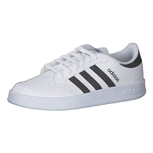 Adidas BREAKNET, Zapatillas Hombre, Cloud White Core Black Core Black, 42 2/3 EU